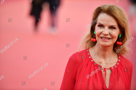 Cyrielle Clair arrives on the red carpet prior to the premiere of 'Une vie cachee' during the 45th Deauville American Film Festival, in Deauville, France, 12 September 2019. The festival runs from 06 to 15 September 2019.