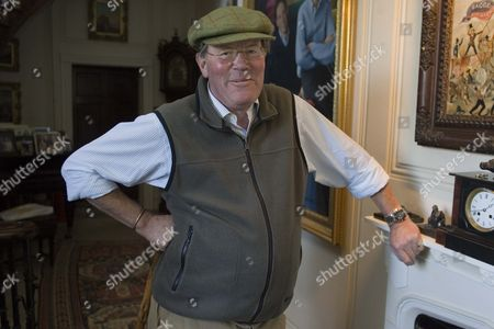 Editorial photo of Sir Jeremy Bagge at his home Stradsett Hall near Swaffham, Norfolk, Britain - 17 Nov 2009
