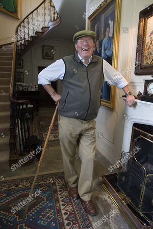 Editorial image of Sir Jeremy Bagge at his home Stradsett Hall near Swaffham, Norfolk, Britain - 17 Nov 2009