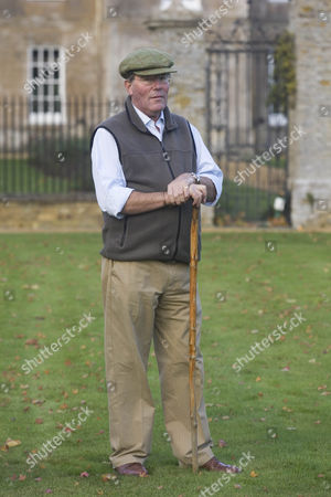 Editorial picture of Sir Jeremy Bagge at his home Stradsett Hall near Swaffham, Norfolk, Britain - 17 Nov 2009