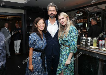 Gina Kwon, Hamish Linklater and Lily Rabe