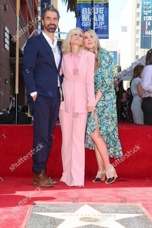 Hamish Linklater, Judith Light and Lily Rabe