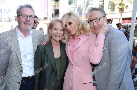 Stock Photo of Daryl Roth, Judith Light and Bernard Telsey