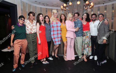 Stock Picture of Faith Soloway, Alexandra Billings, Kathryn Hahn, Andrea Sperling, Shakina Nayfack, Amy Landecker, Judith Light, Jay Duplass, Gaby Hoffmann, Joe Lewis and Jill Soloway attend Judith Light's Hollywood Walk of Fame Star Ceremony