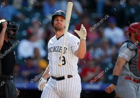 Editorial photo of Cardinals Rockies Baseball, Denver, USA - 12 Sep 2019