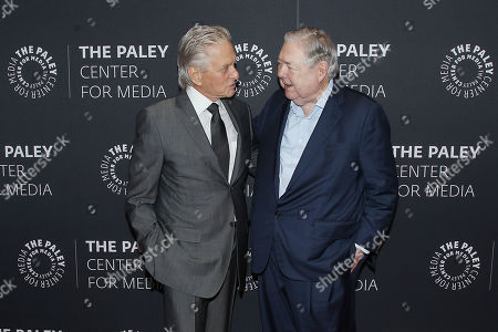 Editorial image of The Paley Honors Luncheon Celebrating Michael Douglas, New York, USA - 12 Sep 2019
