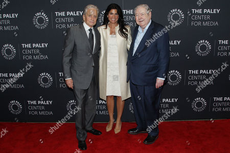 Editorial picture of The Paley Honors Luncheon Celebrating Michael Douglas, New York, USA - 12 Sep 2019