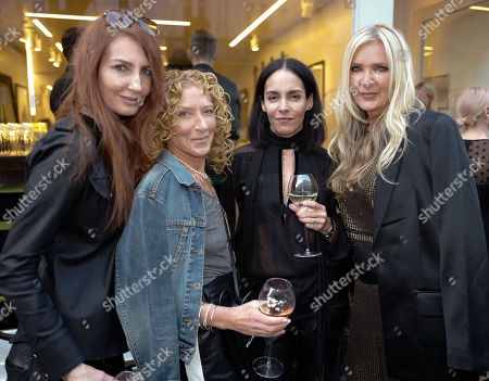 Kelly Hoppen, Amanda Wakeley and guests