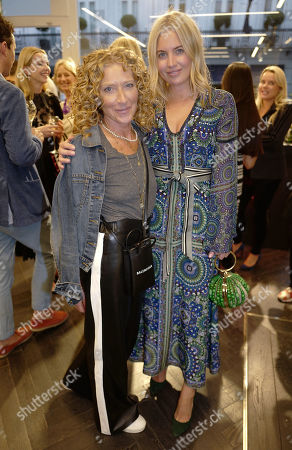 Kelly Hoppen and Marissa Montgomery