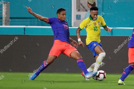 Editorial photo of Brazil Colombia Soccer, Miami Gardens, USA - 06 Sep 2019