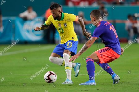 Editorial image of Brazil Colombia Soccer, Miami Gardens, USA - 06 Sep 2019