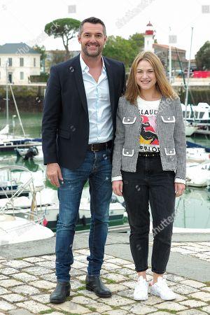 Arnaud Ducret and Emilie Dequenne