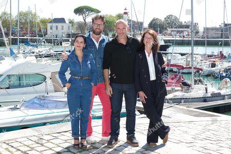 Cecile Rebboah, Alexandre Castagnetti, Medi Sadoun and Claire Nadeau