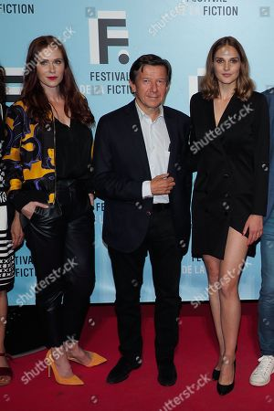 Audrey Fleurot, Gilles Pelisson and Camille Lou