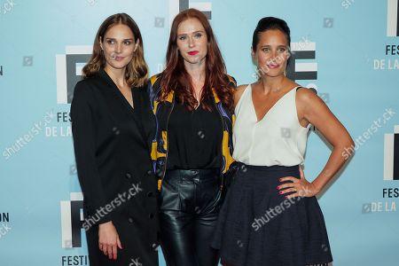 Camille Lou, Audrey Fleurot and Julie De Bona