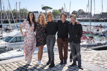 Stock Image of Laetitia Eido, Elodie Fontan, Manon Azem, Jean-Hugues Anglade and Vincent Rottiers