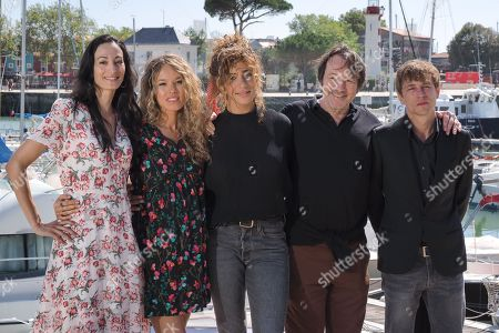 Laetitia Eido, Elodie Fontan, Manon Azem, Jean-Hugues Anglade and Vincent Rottiers
