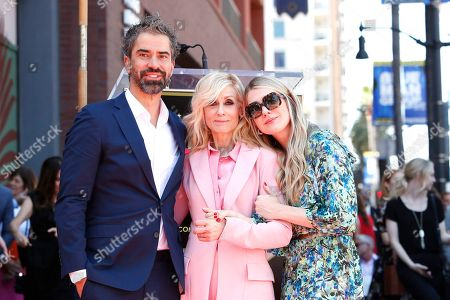 Hamish Linklater, Judith Light and Lily Rabe at a ceremony where Judith Light was honored with the 2673rd star on the Hollywood Walk of Fame in Los Angeles, California, USA, 12 September 2019. The star was dedicated in the category of Live Theatre/Live Performance.