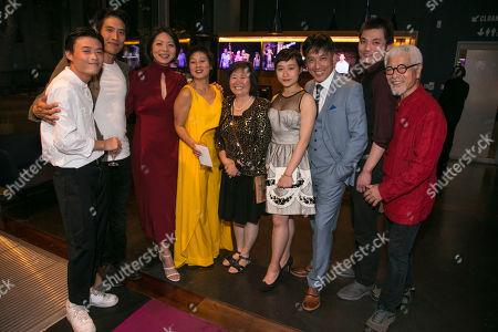 Aidan Cheng (Little Yi/Peter), Christopher Goh (Shen/Han-Han), Celeste Den (Yin-Yin/Luo-Na), Tuyen Do (Lili/An-Mei/Ruzhen), Shuping Wang, Millicent Wong (Jasmine/Pei-Pei), Kok-Hwa Lie (Kuan/Wang-Wei), Vincent Lai (Wen/Johnny) and Togo Igawa (Old Yang/Minister Li)