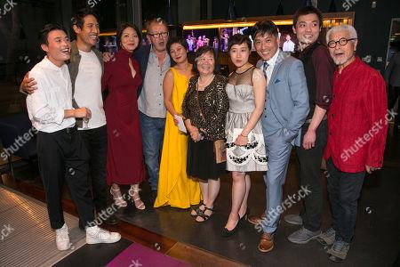 Aidan Cheng (Little Yi/Peter), Christopher Goh (Shen/Han-Han), Celeste Den (Yin-Yin/Luo-Na), Michael Boyd (Director), Tuyen Do (Lili/An-Mei/Ruzhen), Shuping Wang, Millicent Wong (Jasmine/Pei-Pei), Kok-Hwa Lie (Kuan/Wang-Wei), Vincent Lai (Wen/Johnny) and Togo Igawa (Old Yang/Minister Li)