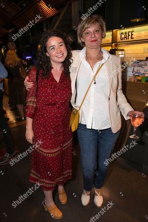 Stock Image of Sarah Steele and Martha Plimpton