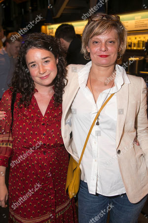 Sarah Steele and Martha Plimpton