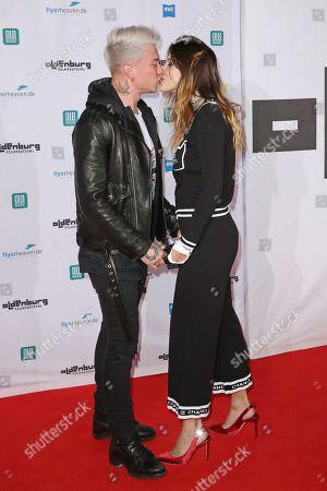 Stock Image of Benjamin Mascolo and Bella Thorne