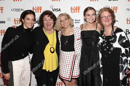 Danielle Krudy, Margo Martindale, Bridget Savage Cole, Morgan Saylor and Marceline Hugot