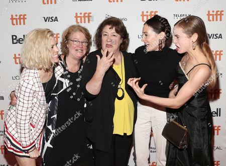 Bridget Savage Cole, Marceline Hugot, Margo Martindale, Danielle Krudy and Morgan Saylor