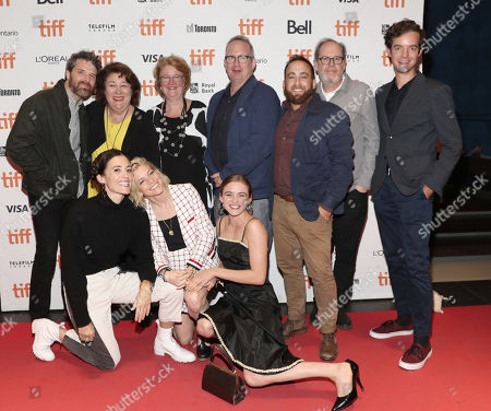 Stock Picture of Drew Houpt, Margo Martindale, Marceline Hugot, Ted Hope, Alex Scharfman, Albert Berger, Lucas Joaquin, Danielle Krudy, Bridget Savage Cole and Morgan Saylor