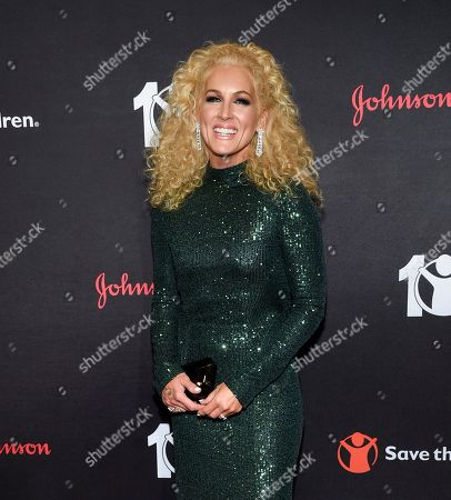 """Kimberly Schlapman attends the Save the Children's """"The Centennial Gala: Changing the World for Children"""" at the Hammerstein Ballroom, in New York"""
