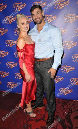 Jorgie Porter and Phil Parker