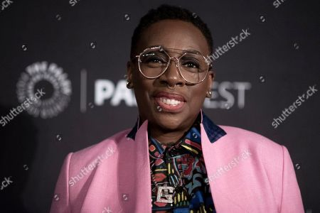 """Gina Yashere attends CBS's """"Bob Hearts Abishola"""" screening and panel during the 2019 PaleyFest Fall TV Previews at The Paley Center for Media, in Beverly Hills, Calif"""