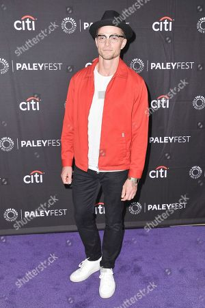 """Wilson Bethel attends CBS's """"Bob Hearts Abishola"""" screening and panel during the 2019 PaleyFest Fall TV Previews at The Paley Center for Media, in Beverly Hills, Calif"""