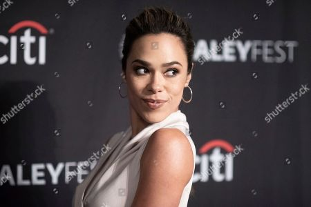 """Jessica Camacho attends CBS's """"Bob Hearts Abishola"""" screening and panel during the 2019 PaleyFest Fall TV Previews at The Paley Center for Media, in Beverly Hills, Calif"""