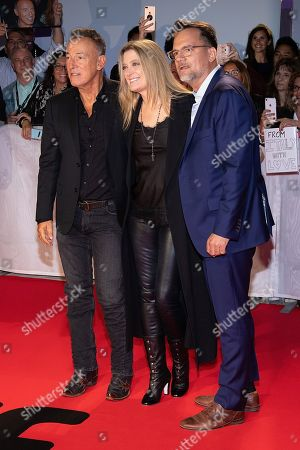 Stock Picture of Bruce Springsteen, Carolyn Blackwood and Thom Zimny