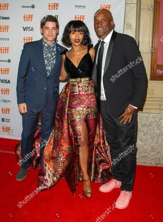 Jeremy Jordan, US actress and cast member Kerry Washington and US director Kenny Leon arrive during the 44th annual Toronto International Film Festival (TIFF) in Toronto, Canada, 12 September 2019. The festival runs from 05 September to 15 September 2019.