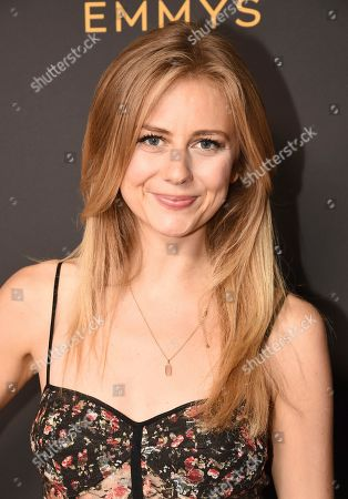 Justine Lupe attends the Television Academy's Casting Directors Nominee Reception at 1 Hotel West Hollywood, in West Hollywood, Calif