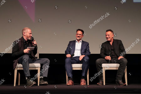 Toby Emmerich, Chairman of Warner Bros. Pictures Group, Thom Zimny, Director/Producer, Bruce Springsteen