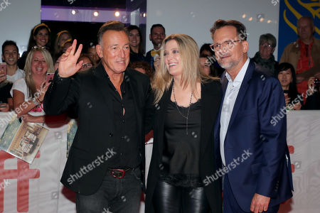 Bruce Springsteen, Carolyn Blackwood, President and Chief Content Officer, New Line Cinema, Thom Zimny, Director/Producer,