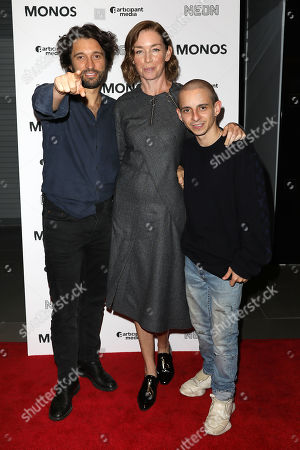 Alejandro Landes (Director), Julianne Nicholson and Moises Arias