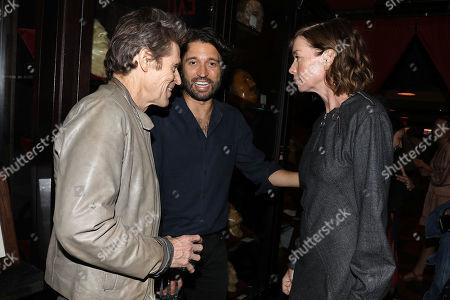 Willem Dafoe, Julianne Nicholson and Alejandro Landes (Director)