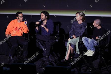 Eric Kohn, Alejandro Landes (Director), Julianne Nicholson and Moises Arias