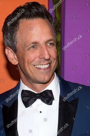 Seth Meyers attends the 5th annual Diamond Ball benefit gala at Cipriani Wall Street, in New York