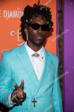 Saint Jhn attends the 5th annual Diamond Ball benefit gala at Cipriani Wall Street, in New York