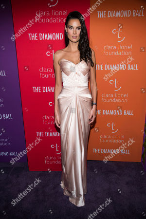 Camille Ringoir attends the 5th annual Diamond Ball benefit gala at Cipriani Wall Street, in New York