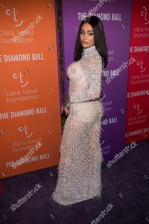 Kehlani attends the 5th annual Diamond Ball benefit gala at Cipriani Wall Street, in New York