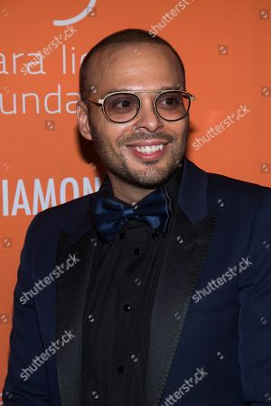 Stock Image of Richie Akiva attends the 5th annual Diamond Ball benefit gala at Cipriani Wall Street, in New York