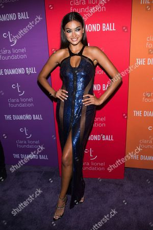 Kelly Gale attends the 5th annual Diamond Ball benefit gala at Cipriani Wall Street, in New York