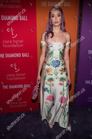 Olivia O'Brien attends the 5th annual Diamond Ball benefit gala at Cipriani Wall Street, in New York